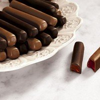 Gourmet Chocolate Raspberry Jelly Sticks