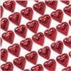 valentines day candy chocolate wholesale red foil chocolate hearts