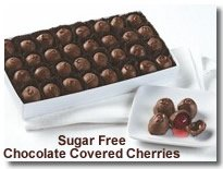 sugar free chocolate covered cherries