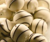 white chocolate hazelnut truffles