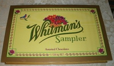 whitman chocolates sampler