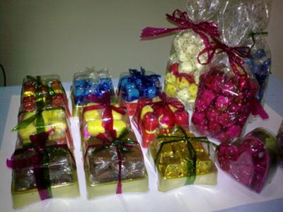 Assorted Yema Cube Candy Products